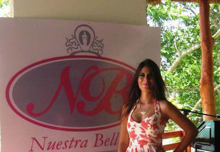 Salma Betzabé Sosa Herrera es Nuestra Belleza Quintana Roo 2015. (Javier Ortiz/SIPSE)