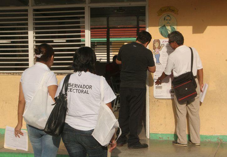 Los casos han sido denunciados por el personal del Instituto Nacional Electoral. (Israel Leal/SIPSE)