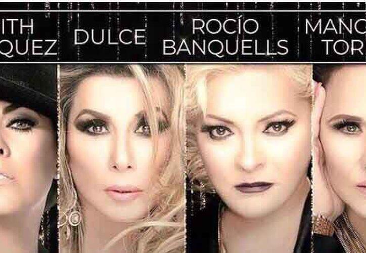 Rocío Banquells presentó el inicio de la gira 2018. (Redacción)