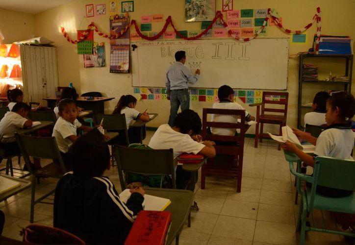 En Benito Juárez existen 20 escuelas de tiempo completo. (Victoria González/SIPSE)