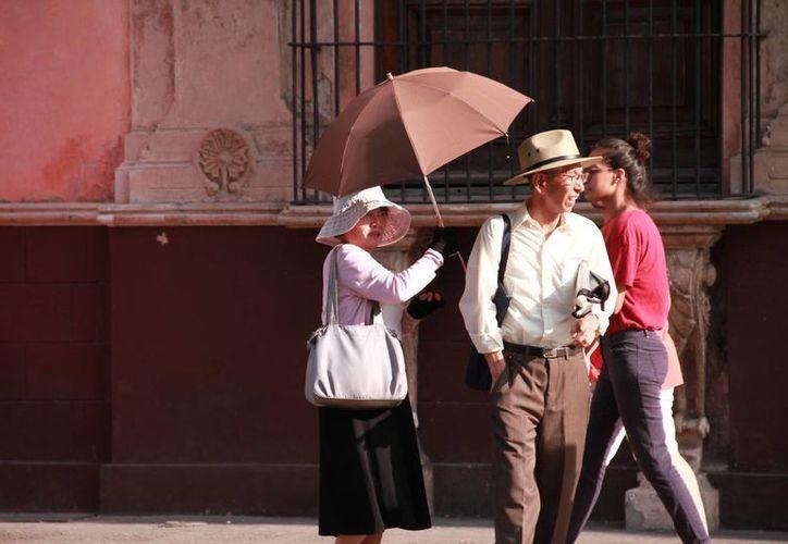 Este martes el mercurio alcanzó 35.7 grados en la capital yucateca, a las 14 horas. (Milenio Novedades)