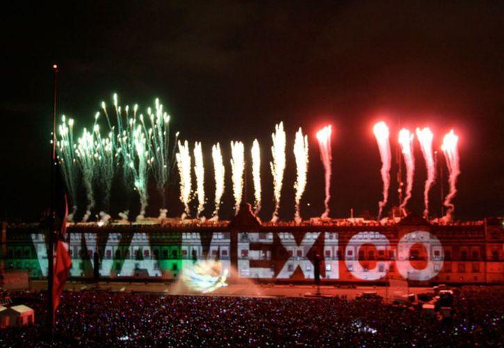 El día 15 podrás disfrutar de un Grito de Independencia muy original en el Palacio Nacional. (Contexto)