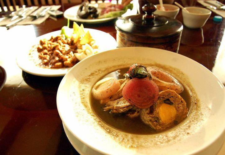 La gastronomía es uno de los principales atractivos de la Semana de Yucatán en México. (Milenio Novedades)