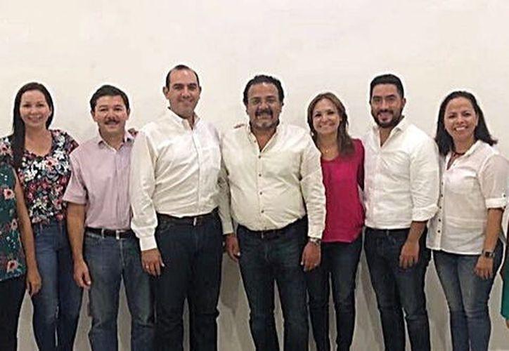 Legisladores electos del PRI. (Foto: Milenio Novedades)