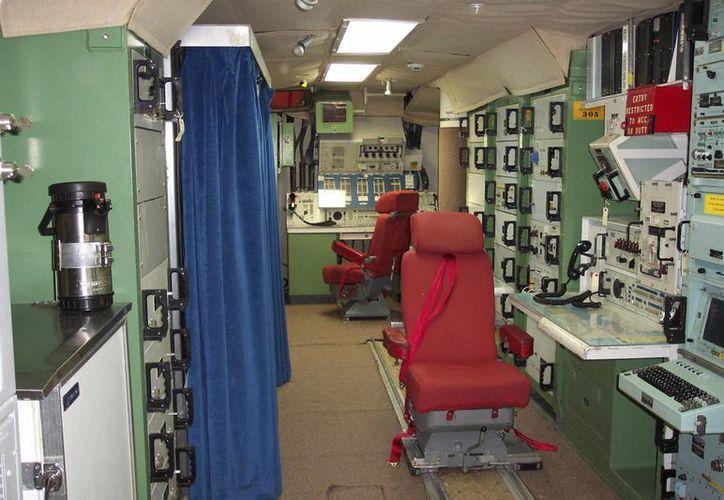 Fotografía del interior de la desactivada Instalación de Lanzamiento Delta Nine cerca de Wall, Dakota del Sur, la cual está ahora abierta al público. (Agencias)