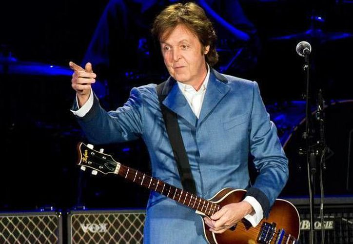 Sir Paul McCartney. (Archivo/AP)