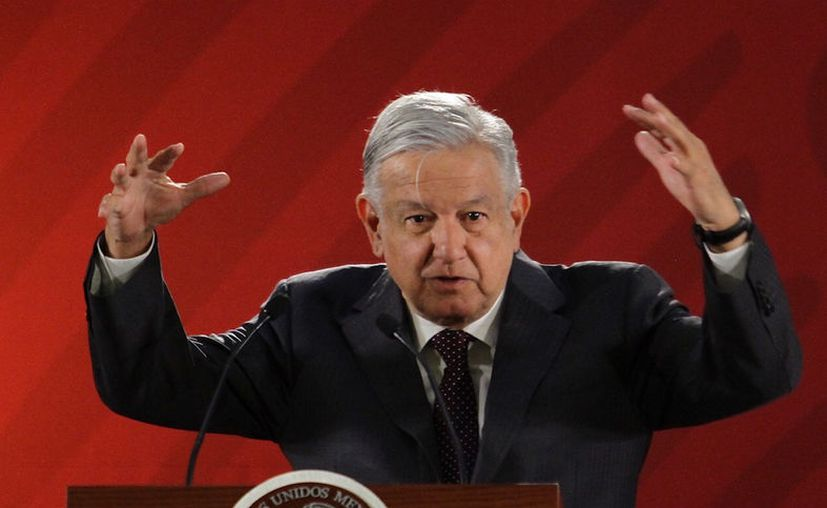 López Obrador aseguro que no tiene bots en redes sociales (Foto: Notimex)