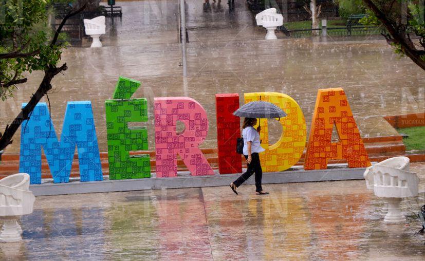 Las lluvias estarán acompañadas de descargas eléctricas. (Novedades Yucatán)