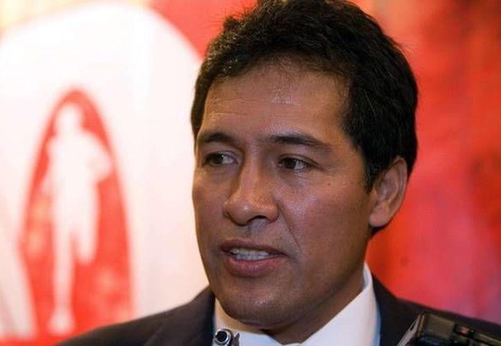 Antonio Lozano Pineda, Presidente de la Federación Mexicana de Atletismo, permanece en el Reclusorio Sur de la capital del país.(Notimex)