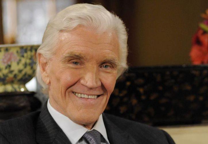 Imagen del 2009, del actor David Canary, quien murió de causas naturales el 16 de noviembre del 2015 en Wilton, Connecticut. Tenía 77 años. (Lorenzo Bevilaqua/ABC vía AP)