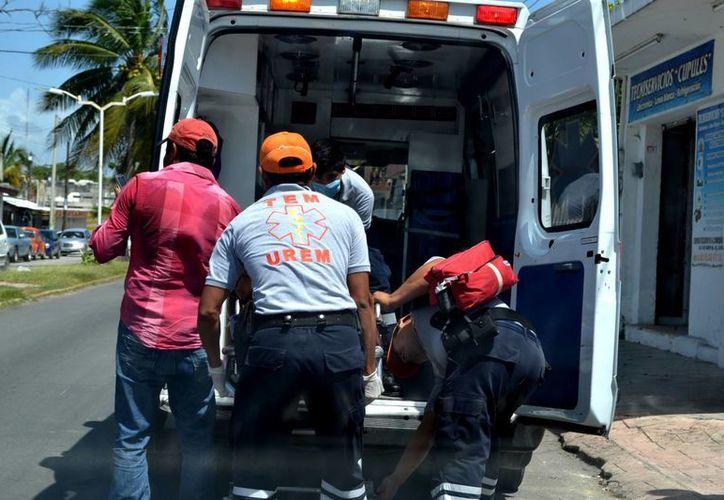 La señora fue trasladada al Hospital General de Chetumal. (Redacción/SIPSE)