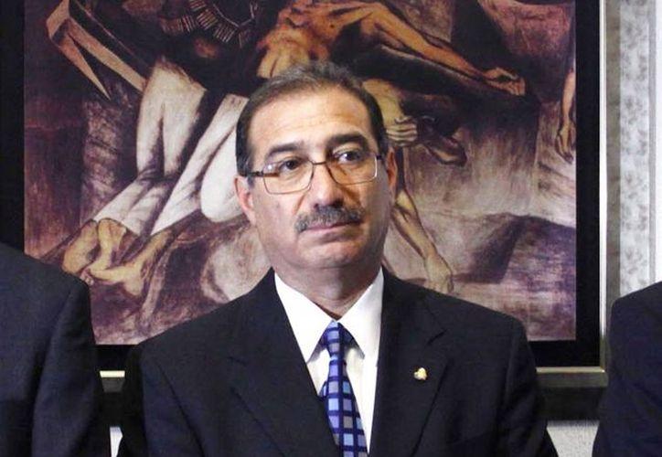 Pérez Dayán: la ilegalidad debe ser contenida de manera legal. (Notimex)