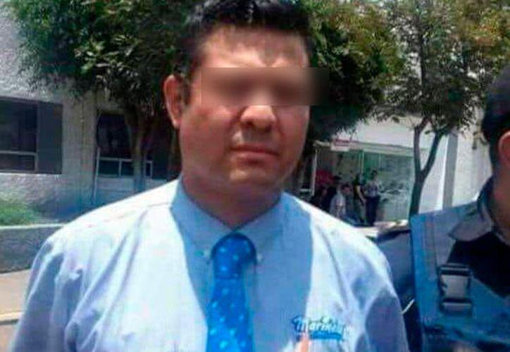 Elementos de la Secretaría de Seguridad Pública de la Ciudad de México, detuvieron al repartidor. (Internet)