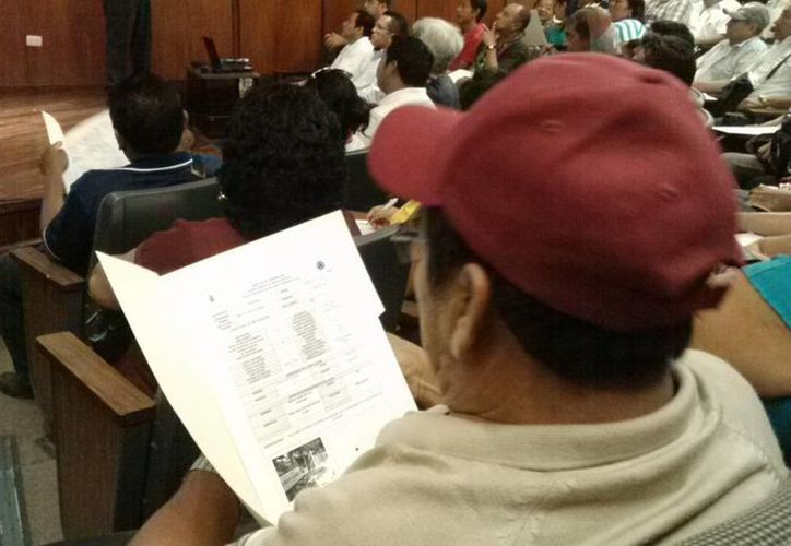 Comisarios de Mérida han recibido diversos cursos de capacitación para que sean mejores autoridades auxiliares. (Cortesía)