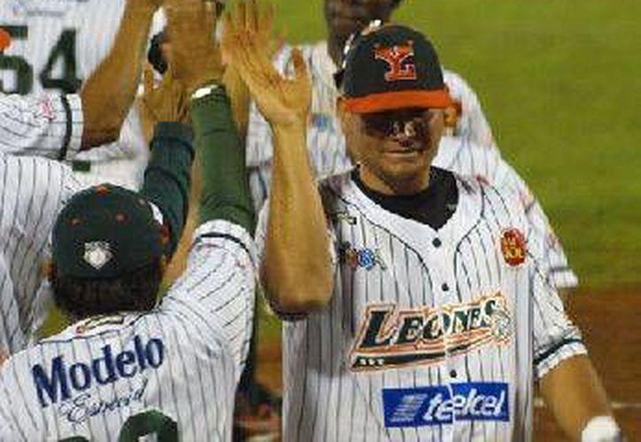 Leones estuvo imparable en los juegos contra Rojos del Águila de Veracruz. (Archivo/Milenio Novedades)