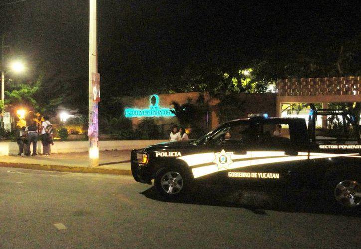 Ahora hay patrullaje constante y revisiones a sospechosos en la zona. (SIPSE)