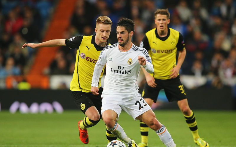 Real Madrid recibe al Borussia Dortmund en la Liga de Campeones