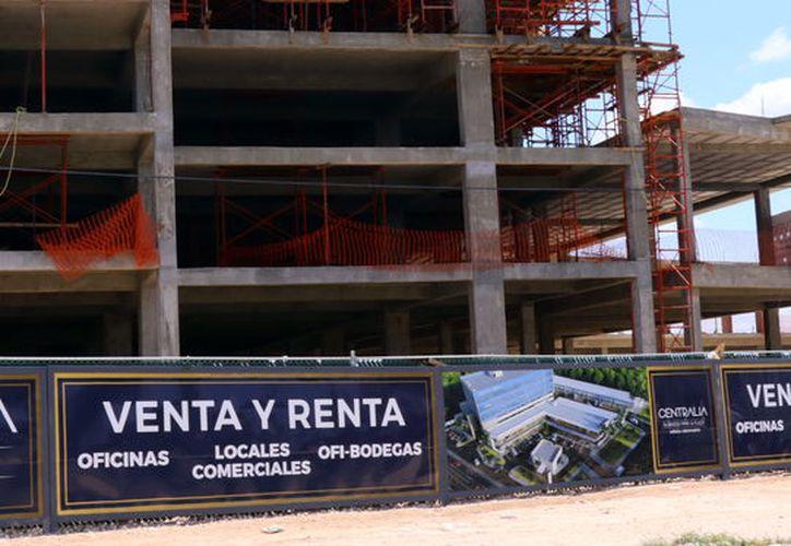 Levantan edificios verticales en Mérida. (Archivo/SIPSE)