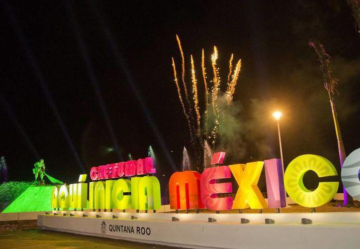 """El parador fotográfico se distinguirá con la leyenda  """"Chetumal. Aquí inicia México"""". (Redacción/SIPSE)"""