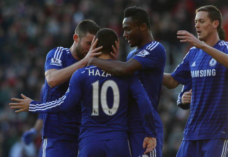 Chelsea acumula 46 puntos en la tabla general de la Liga Premier. (AP)