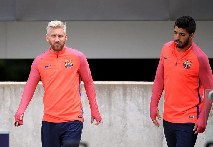 El premio se entregará el próximo 25 de agosto, sin la presencia de Lionel Messi y Luis Suárez, quien fue el ganador de la bota de Oro.(Mike Egerton/AP)