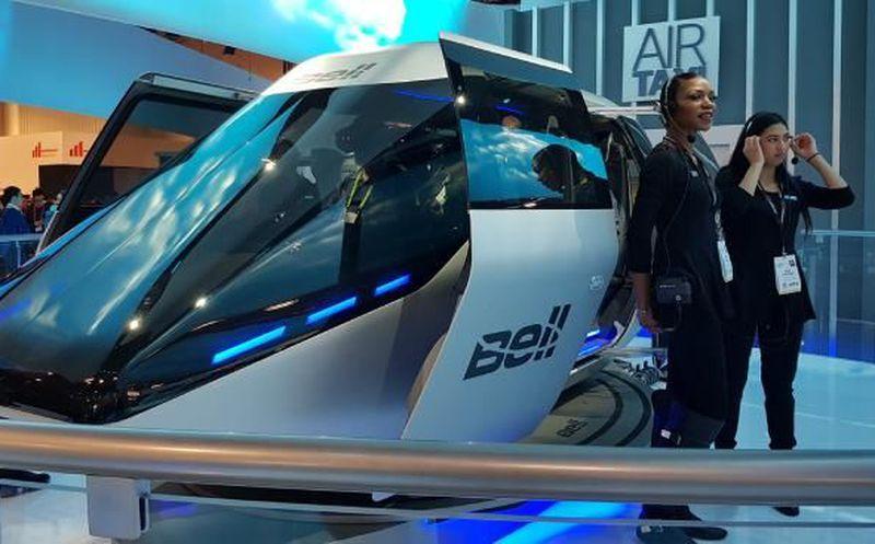 El futuro del transporte urbano — Bell Air Taxi