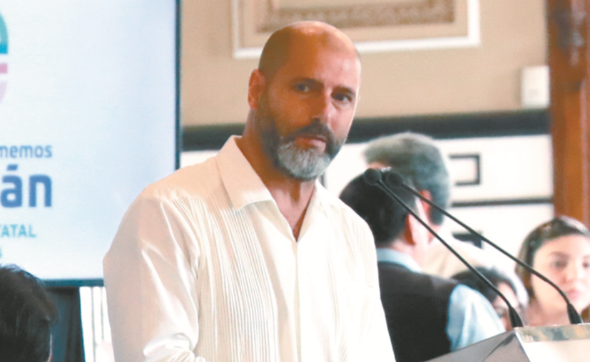 David Calvo Romano, responsable  del Programa de Colaboración Urbana Internacional de la Unión Europea. (Novedades Yucatán)