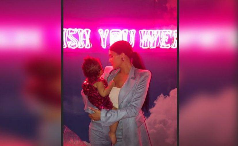 La menor de las Kardashian no escatimó en gastos para el festejo de su primogénita. (Excélsior)