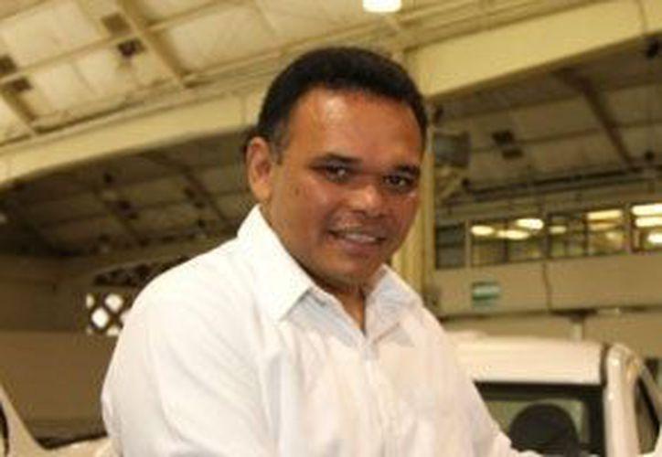 El gobernador de Yucatán, Rolando Zapata Bello, estará en Ciudad Caucel este sábado. (SIPSE)