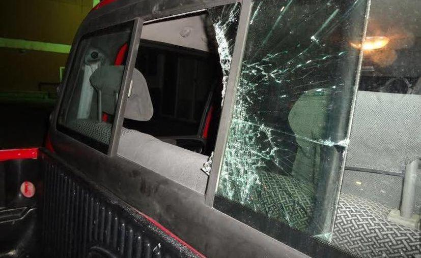 """Daniel """"N"""" de 20 años rompió el cristal de una camioneta para robarse diversos artículos. (Redacción/SIPSE)"""