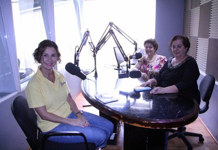 Erika Millet platicó sobre Vifac en el programa radiofónico. (Milenio Novedades)