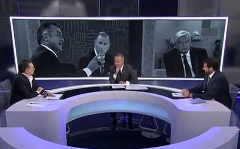 Programa Posdebate, conducido por Ciro Gómez Leyva en Imagen Televisión. (Foto: Excélsior)