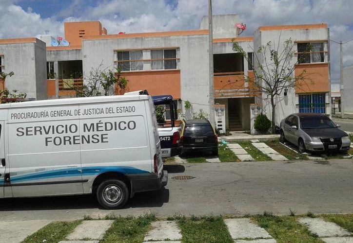 Los hechos se registraron en una vivienda del fraccionamiento Prado Norte. (Licety Díaz/SIPSE)