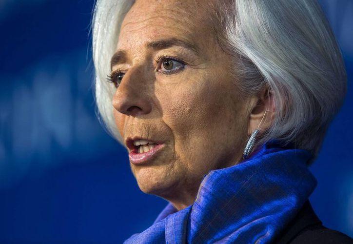 Christine Lagarde, directora del FMI, indicó que Portugal va recuperando la estabilidad en sus finanzas públicas. (EFE)