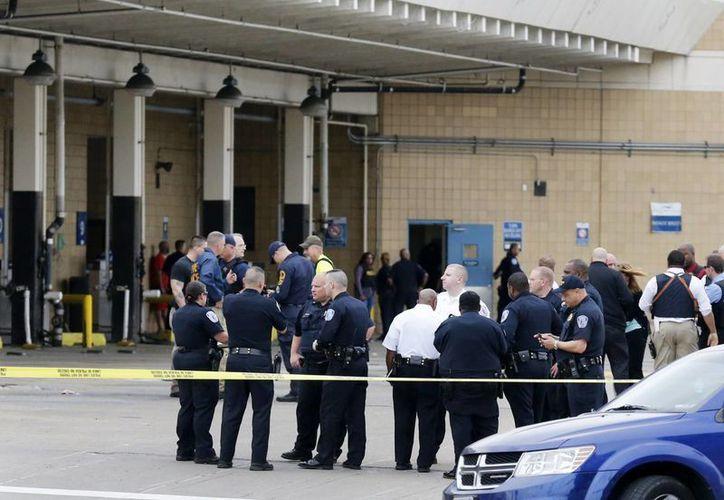 Las causas del tiroteo en la estación de autobuses Greyhound aun se desconocen. (AP)