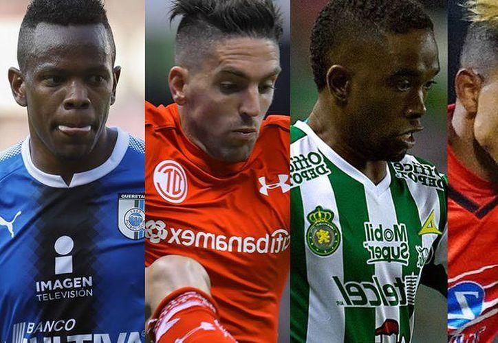 Candelo, Hauche, Burbano y Rodríguez son algunos de los futbolistas que dejan la Liga MX (Foto: Imago7)