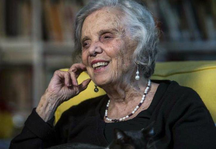 La escritora Elena Poniatowska será la encargada de inaugurar el ciclo 'El cuento y sus alrededores', que a partir del próximo ocho de junio se llevará a cabo en el Centro Cultural Elena Garro. (Archivo AP)