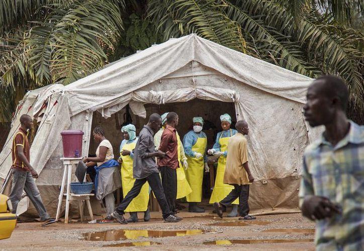 En África viven mil 69 mexicanos, de los cuales 641 habitan en África Occidental, la zona considerada de más riesgo en este momento. (Agencias)