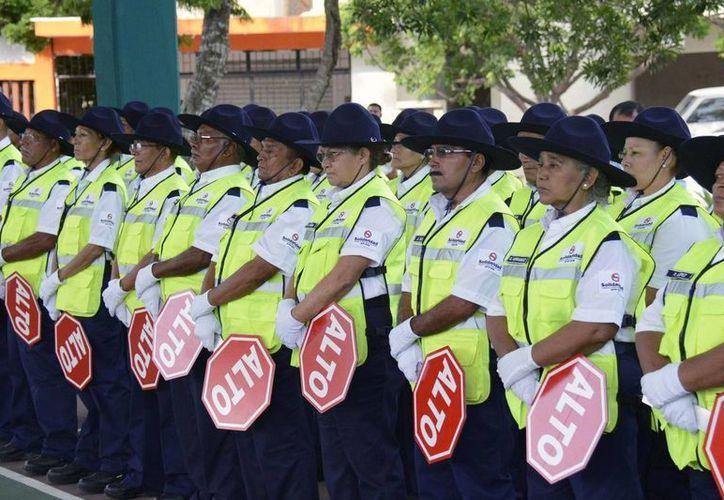"""Dentro del programa """"Vigilante Ciudadano"""" hay actualmente 117 adultos mayores.  (Redacción/SIPSE)"""