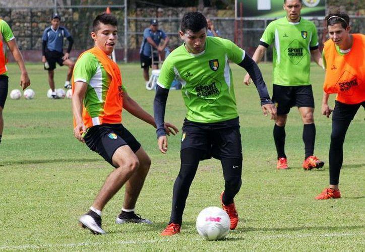 El entrenamiento de ayer de los Venados FC Yucatán. (Milenio Novedades)