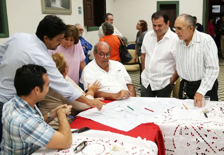 El Gobierno del Estado, UNAM y ciudadanos iniciaron los trabajos en talleres temáticos y mesas de diálogo sobre lo que se debe hacer con los terrenos de 'La Plancha'. (Fotos cortesía del Gobierno estatal)
