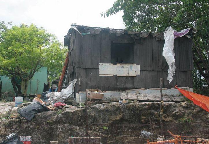 Dentro de las obras que se realizarán con los recursos solicitados al Fonden se dejó fuera a zonas incluidas en el Atlas de Riesgo de la isla.  (Irving Canul/SIPSE)