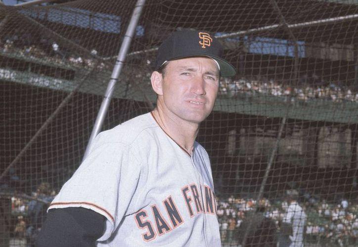 Alvin Dark, en foto de agosto de 1962, cuando era coach de Gigantes de Nueva York. (Fotos: AP)