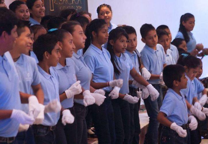 Cada vez son más los coros que se presentan en Quintana Roo. (Redacción/SIPSE)
