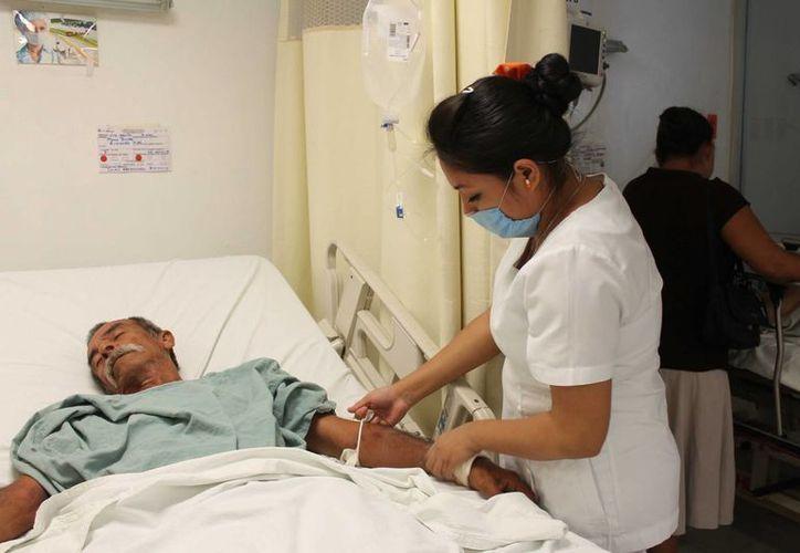 Existe escasez de médicos en el ramo de la pediatría, cardiología, cirugía, neurología y oftalmología. (Harold Alcocer/SIPSE)