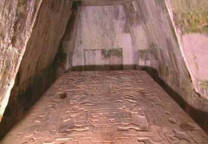 La tumba de Pakal es única en su tipo en América Latina, además de compararse con las tumbas egipcias. (Ángel Castilla/SIPSE)