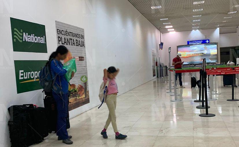 La actividad en esa terminal se redujo de manera notable. (Guadalupe Adrián/Novedades Yucatán)