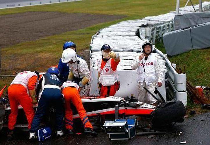 Este martes, la familia de Bianchi declaró que el piloto se encuentra grave, pero estable. (Foto: Agencias)