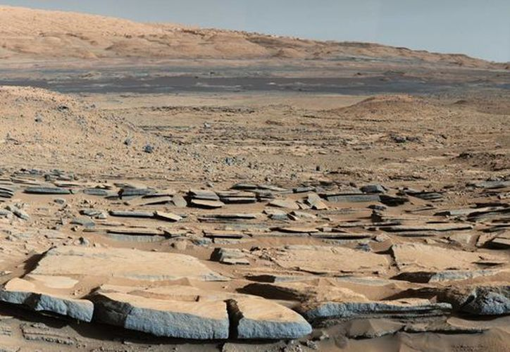 El hostil terreno marciano podría ser utilizado para construir viviendas cuando en el futuro el humano habite ese planeta. (nasa.gov)