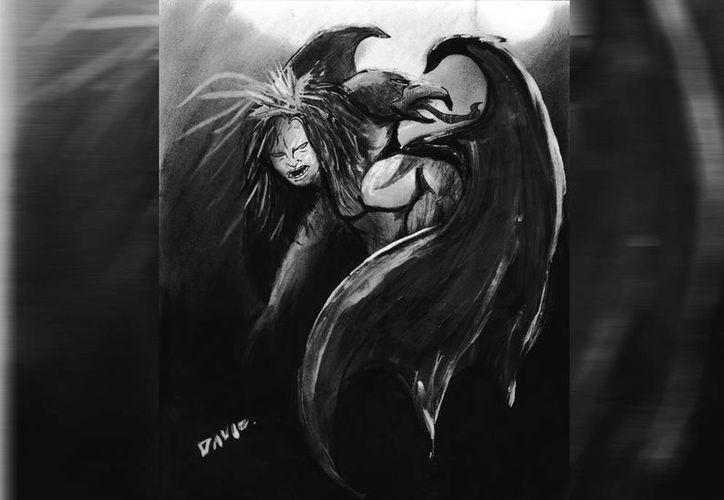 """Retrato hablado de una bruja """"cabeza errante"""", al parecer antiguamente había varias en Yucatán. (Jorge Moreno/SIPSE)"""